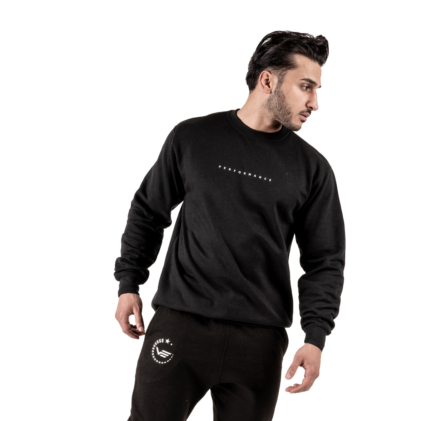 Ninety3 Sweater - black
